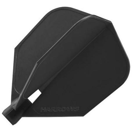 ailette clic standard noir