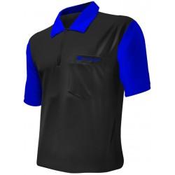 shirt hybrid 2 noir bleu target medium