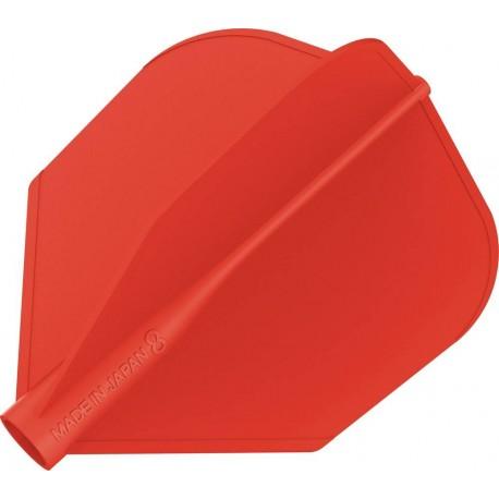 8 flight ailette shape rouge
