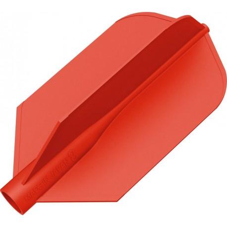8 flight ailette fine rouge