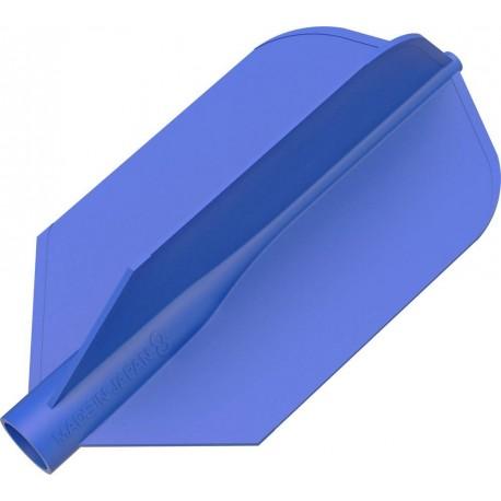 8 flight ailette fine bleu