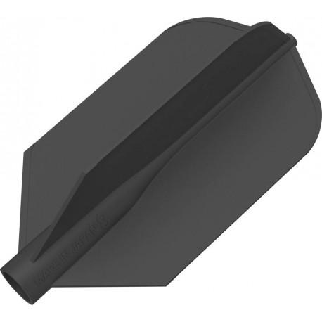 8 flight ailette fine noir