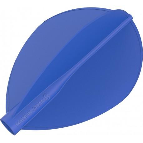 8 flight ailette poire bleu