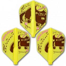 ailettes fit flight shape jaune yuko hino
