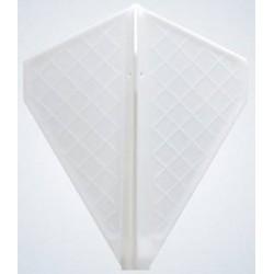 ailettes fit flight pro v5 blanc