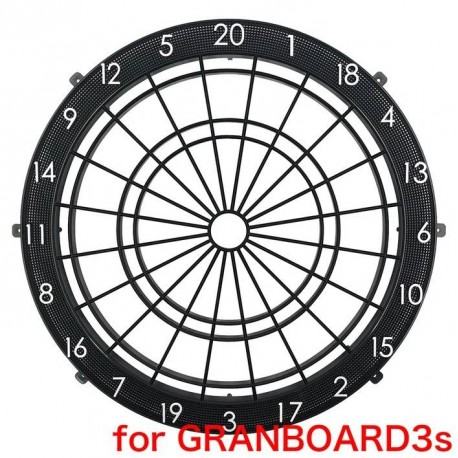 araignée noire avec numéros de rechange pour granboard 3s