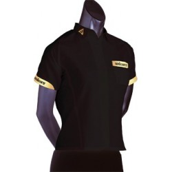 teknik ladies darts shirt noir T10
