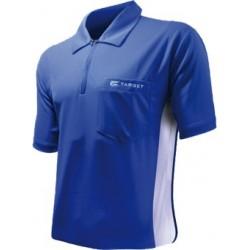shirt hybrid bleu blanc target medium