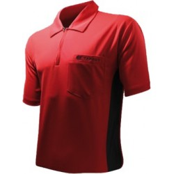 shirt hybrid rouge noir target XXL