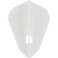 ailette champagne fantail dimple blanc