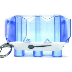étui L-style krystal bleu