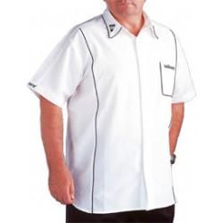 teknik mens darts shirt blanc large