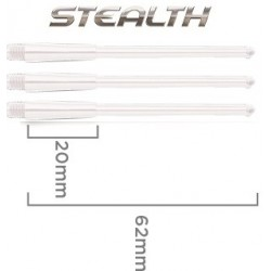 tige stealth court blanc