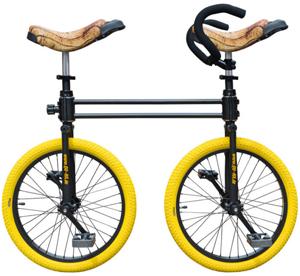 Monocycles et cycles spéciaux